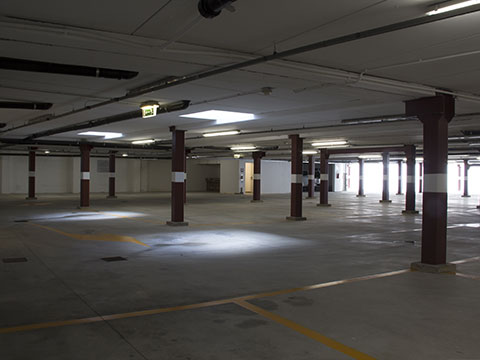 Ample internal parking